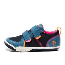 Plae Ty Suede/Nylon Navy/pink