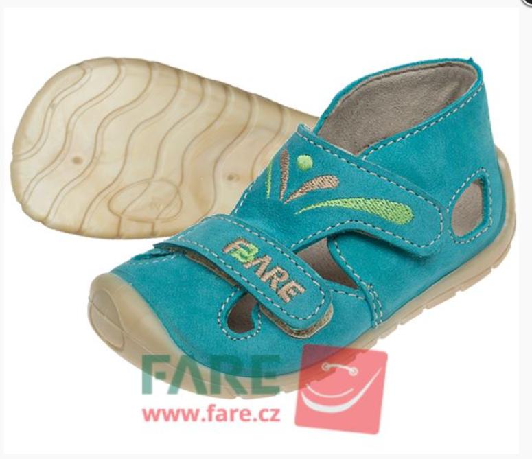 Barefoot FARE BARE dětské sandály 5061201 bosá