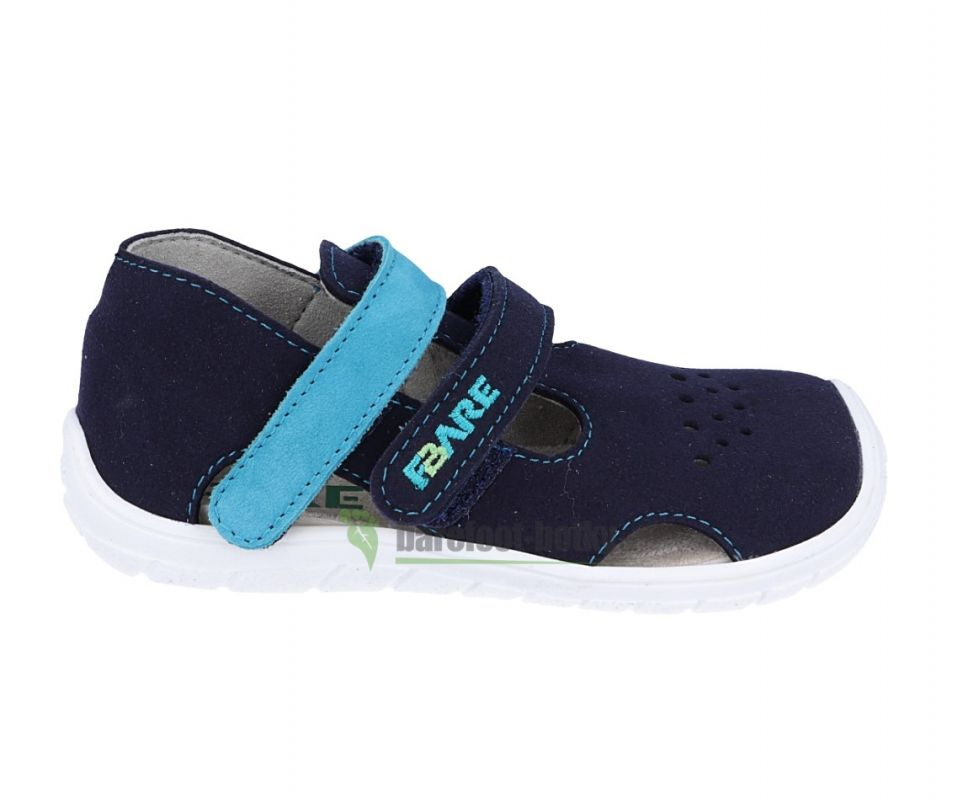 Barefoot FARE BARE dětské sandály 5164201 bosá