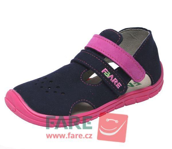 Barefoot FARE BARE dětské sandály 5164251 bosá