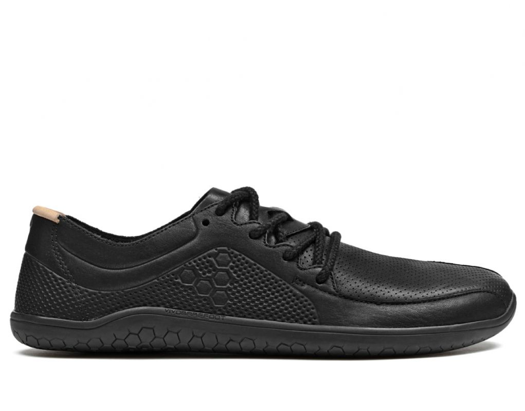Barefoot Vivobarefoot PRIMUS LUX LINED M Leather Black bosá