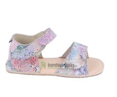 Ortoplus barefoot sandálky D203 G květinové