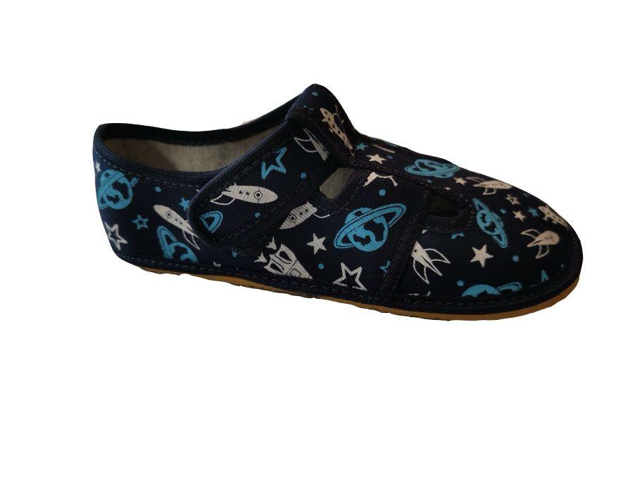 Barefoot Anatomic papučky Kosmos B bosá