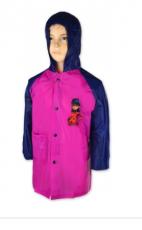 Setino Dívčí pláštěnka LADY BUG -růžová