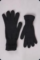 Surtex rukavice tmavé 100% merinové vlny silné - dětské