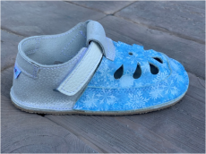 Baby bare shoes Sandálky/ papučky IO Snowflakes TS