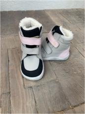 BABY BARE WINTER Grey/pink  OKOP ASFALTICO