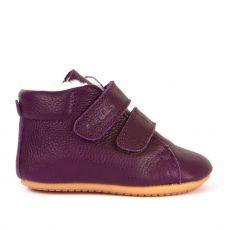 Barefoot boty Froddo Prewalkers zimní purple sheepskin