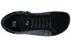 Barefoot Barefoot tenisky Filii - ADULT SNEAKERS PRINCESS Velours Black bosá