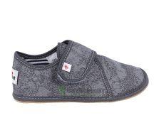 Ef barefoot papučky šedé - uzavřené