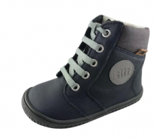 Filii barefoot - EVEREST nappa tex ocean laces M