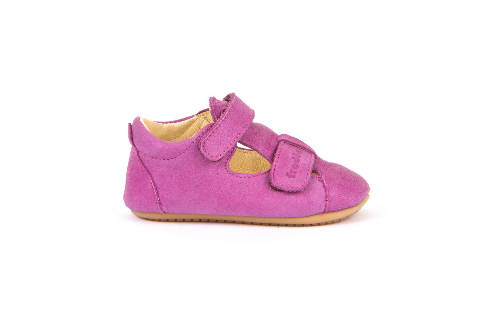 Barefoot Froddo prewalkers fuchsia sandals - velcro