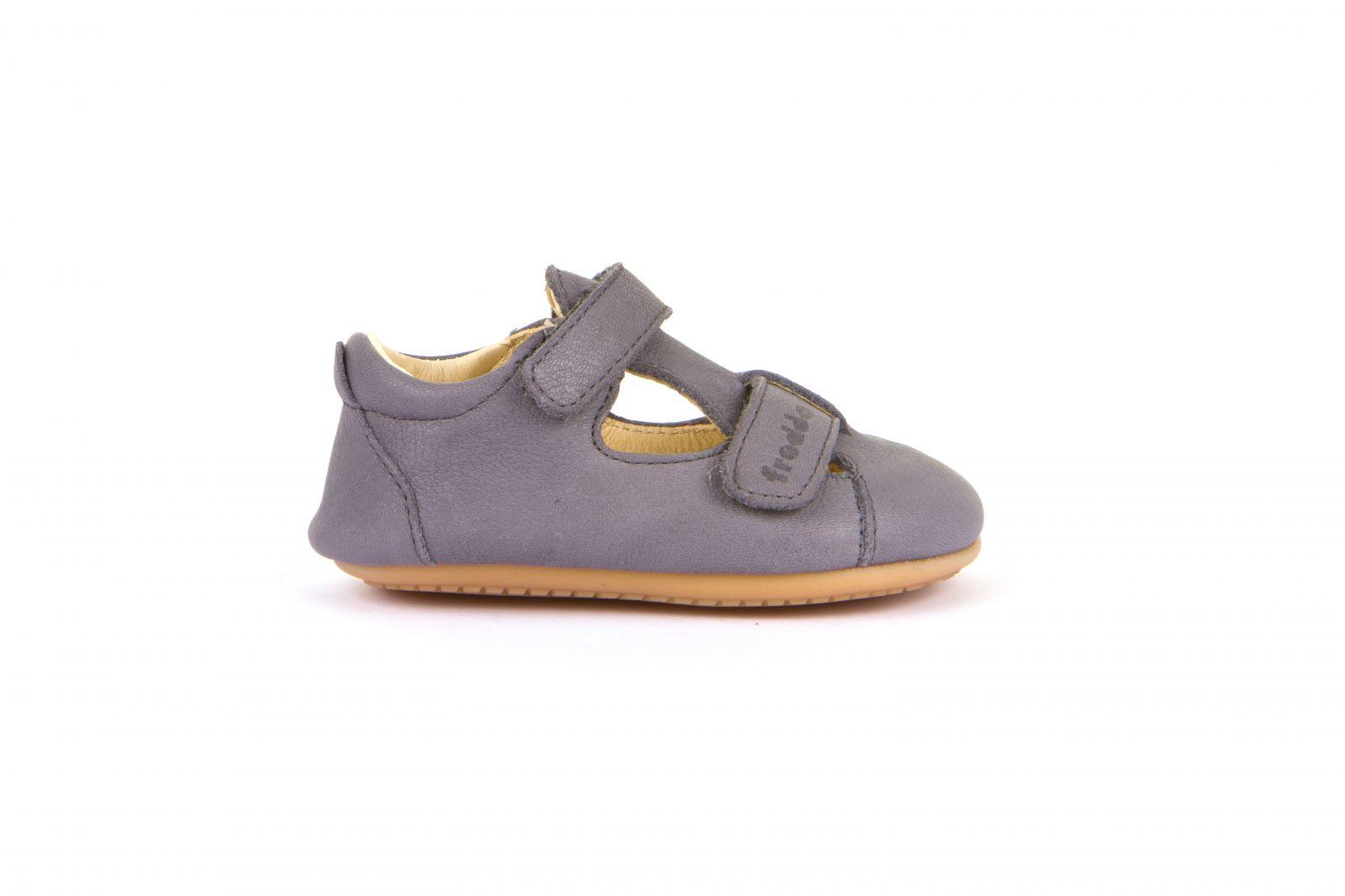 Barefoot Froddo prewalkers sandálky grey bosá