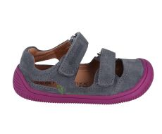 Protetika barefoot sandálky Berg grey