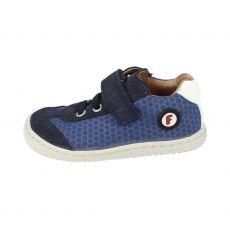 Sneakers Filii SALAMANDER velours / textile strap ocean M | 22, 27