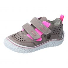 Barefoot shoes RICOSTA Chapp graphite / pink 17207-461 | 20, 21, 22, 24, 25, 26