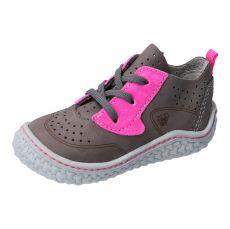Barefoot boty RICOSTA Chipp graphit/neonpink 17206-451
