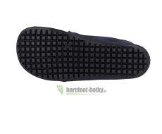 Barefoot Beda barefoot kožené boty - deep blue bosá