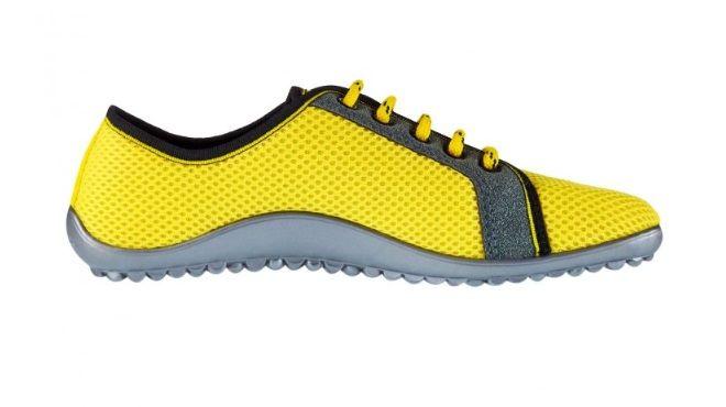 Barefoot Bosoboty LEGUANO AKTIV slunečně žluté bosá