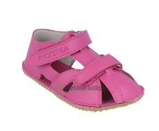 Barefoot Protetika Zero fuxia - kožené barefoot sandálky bosá