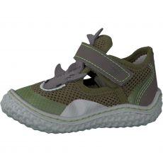 Barefoot sandálky RICOSTA Flipp oliv 17203-581