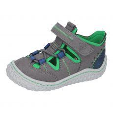 Barefoot sandálky RICOSTA Jerry graphit 17205-451
