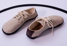 Barefoot boty Ahinsa shoes Sundara lněná
