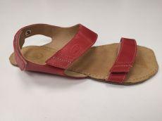 Barefoot  sandále Bora červené