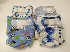 Barefoot BREBERKY - Kalhotková plenka M - suchý zip bosá