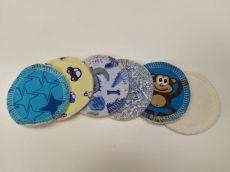 BREBERKY - Látkové odličovací tampónky