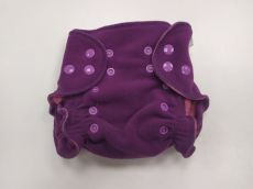 BREBERKY - Svrchní kalhotky fleece S - patenty