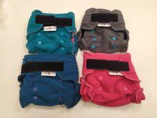 BREBERKY - Svrchní kalhotky fleece S - suchý zip