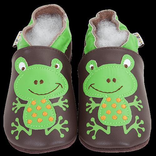 Barefoot Capáčky Lait et Miel žába bosá
