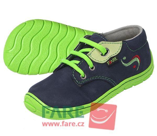 Barefoot FARE BARE dětské celoroční boty 5112203 bosá