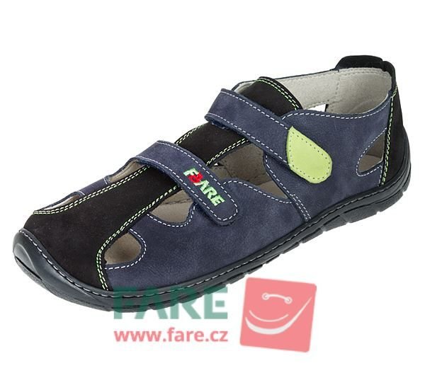 Barefoot FARE BARE sandály 5361201 bosá