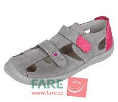 Barefoot FARE BARE sandály 5361251 bosá