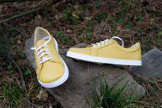 Barefoot Peerko 2.0 kožené boty - Classic Yellow bosá