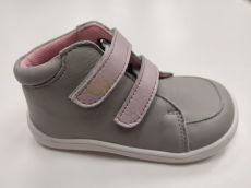 Baby bare shoes Febo Fall Gray / Pink   24, 25
