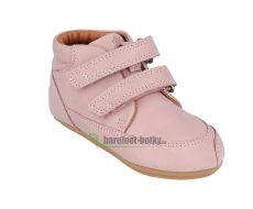 Barefoot Barefoot boty Bundgaard Prewalker II Velcro Old Rose WS bosá