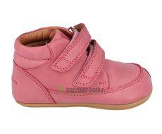 Barefoot boty Bundgaard Prewalker II Velcro Soft Rose WS
