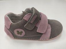 Barefoot Protetika valery pink - celoroční botky bosá