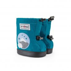 Barefoot boty Stonz Toddler Booties - Mountain - Tea