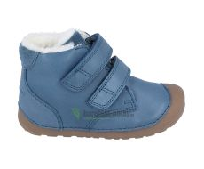 Barefoot Bundgaard Petit Mid winter petrol - zimní barefoot botičky bosá