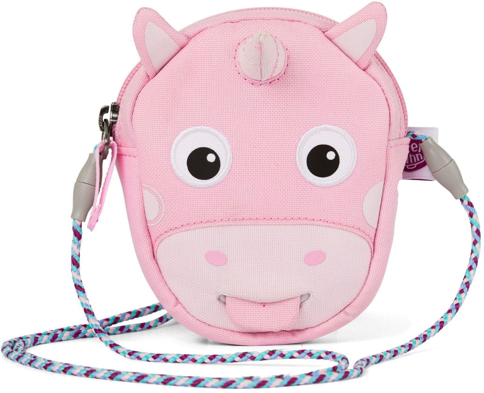 Barefoot Dětská kabelka Affenzahn Puse Ursula Unicorn-Pink bosá