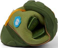 Barefoot Dětské barefoot botičky Affenzahn Minimal Midboot Vegan Dragon - Green bosá