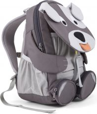 Barefoot Dětský batoh do školky Affenzahn Dylan Dog large - grey bosá