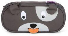 Dětský penál Affenzahn Pencil Case Dog David - grey