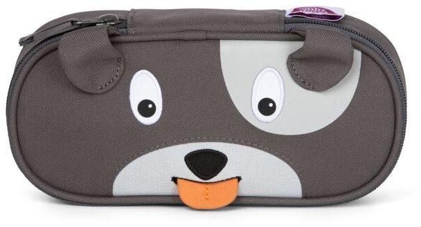 Barefoot Dětský penál Affenzahn Pencil Case Dog David - grey bosá