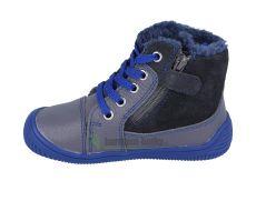Barefoot Protetika zimní barefoot boty Amis grey bosá