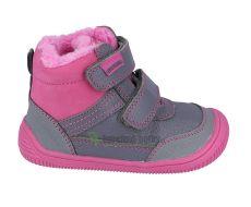 Protetika winter barefoot shoes Tyrel fuxia | 21, 33, 34